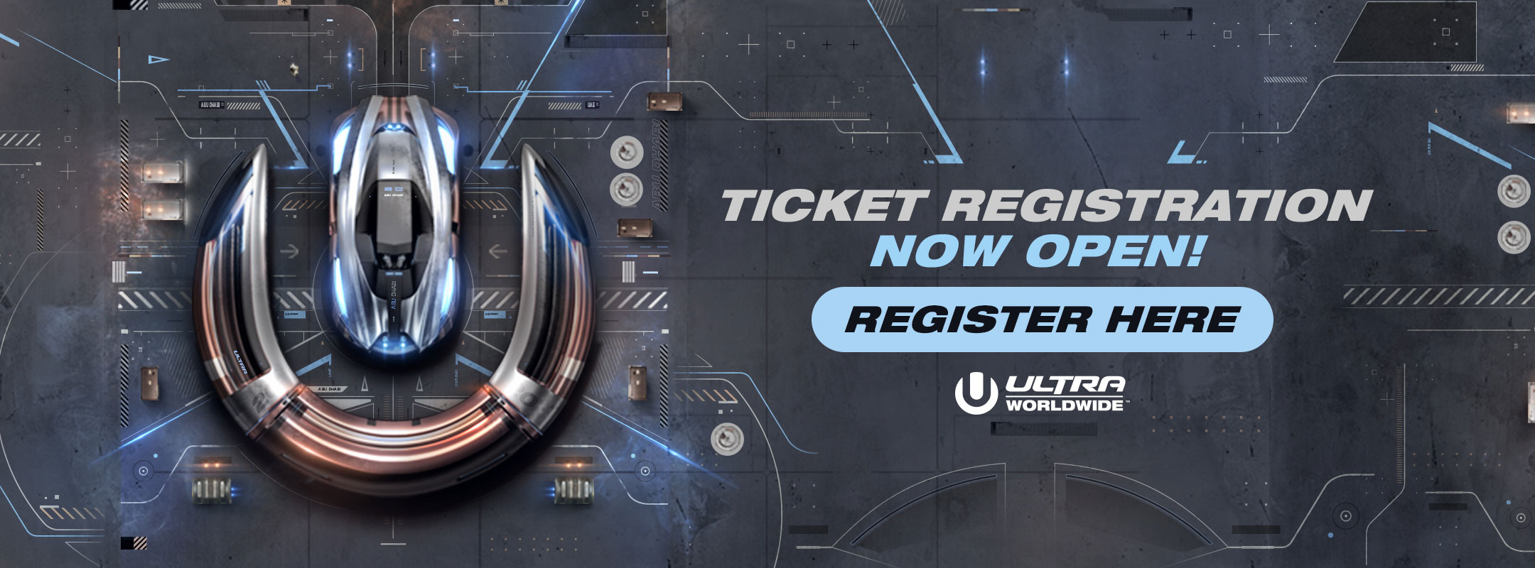 Register for Tickets to Ultra Abu Dhabi
