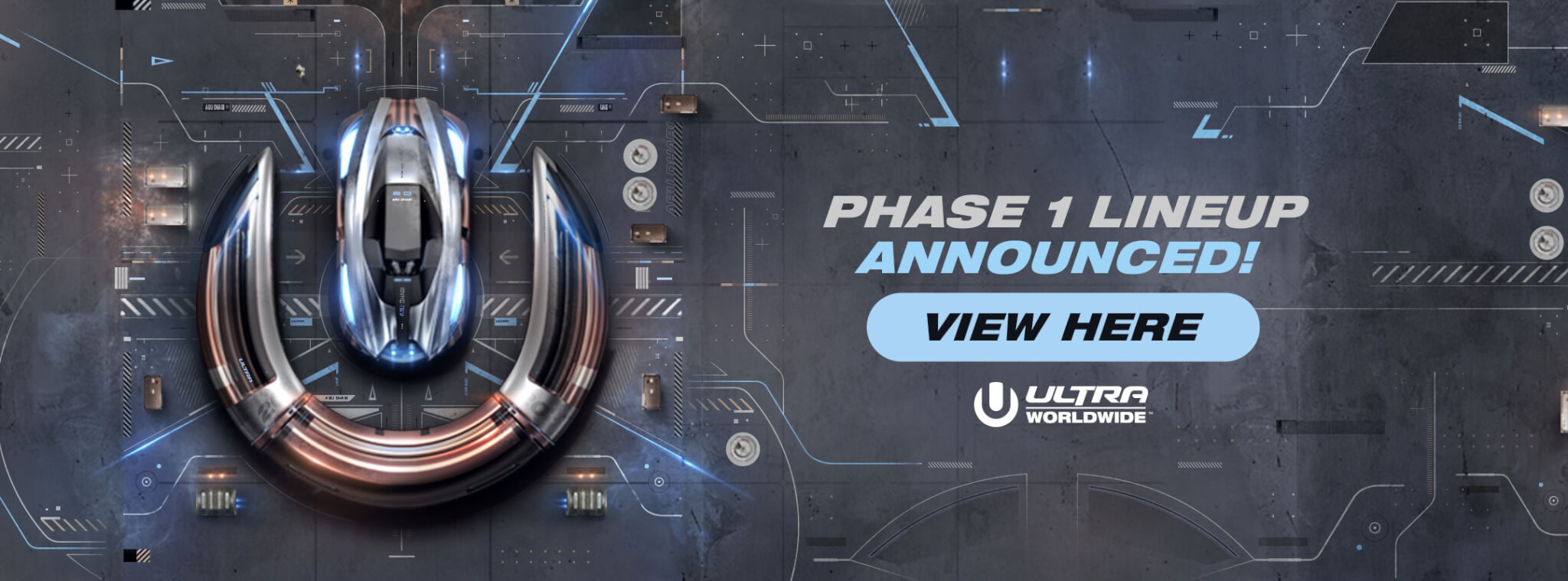 View the Ultra Abu Dhabi Phase 1 Lineup